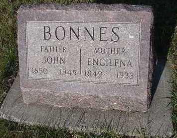 BONNES, ENGELENA (MRS. JOHN) - Sioux County, Iowa   ENGELENA (MRS. JOHN) BONNES