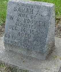 BOOMER, SARAH A. - Sioux County, Iowa | SARAH A. BOOMER