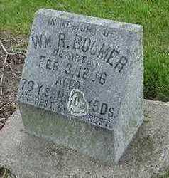 BOOMER, WM. R. - Sioux County, Iowa   WM. R. BOOMER