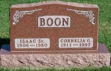 BOON, ISAAC SR. - Sioux County, Iowa | ISAAC SR. BOON