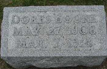 BOONE, DORES D.1914 - Sioux County, Iowa | DORES D.1914 BOONE