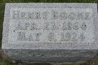 BOONE, HENRY  D.1924 - Sioux County, Iowa | HENRY  D.1924 BOONE