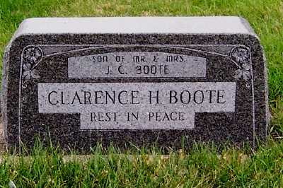 BOOTE, CLARENCE H. - Sioux County, Iowa | CLARENCE H. BOOTE