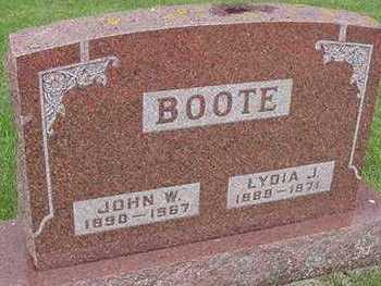 BOOTE, JOHN - Sioux County, Iowa   JOHN BOOTE
