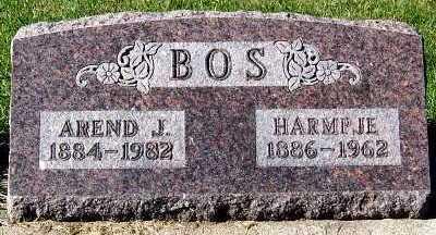 BOS, HARMPJE - Sioux County, Iowa | HARMPJE BOS