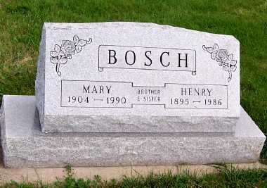 BOSCH, MARY - Sioux County, Iowa | MARY BOSCH