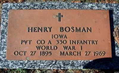 BOSMAN, HENRY - Sioux County, Iowa | HENRY BOSMAN