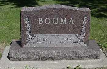 BOUMA, BERT - Sioux County, Iowa   BERT BOUMA