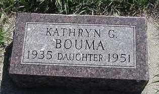 BOUMA, KATHRYN G. - Sioux County, Iowa | KATHRYN G. BOUMA