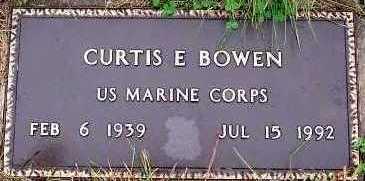BOWEN, CURTIS E. - Sioux County, Iowa | CURTIS E. BOWEN