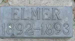 BOWEN, ELMER (FATHER) 1893 - Sioux County, Iowa | ELMER (FATHER) 1893 BOWEN