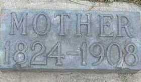 BOWEN, MOTHER 1908 - Sioux County, Iowa | MOTHER 1908 BOWEN