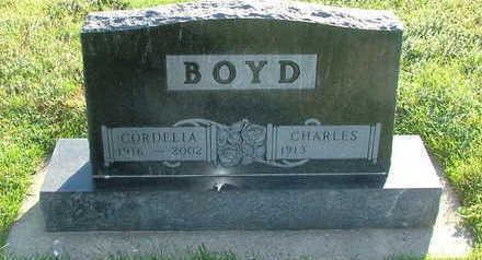 BOYD, CORDELIA (MRS. CHARLES) - Sioux County, Iowa | CORDELIA (MRS. CHARLES) BOYD