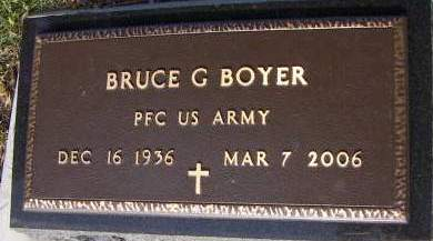 BOYER, BRUCE - Sioux County, Iowa   BRUCE BOYER