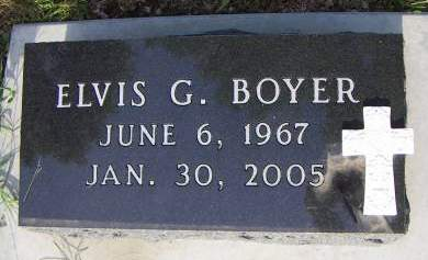 BOYER, ELVIS G. - Sioux County, Iowa | ELVIS G. BOYER