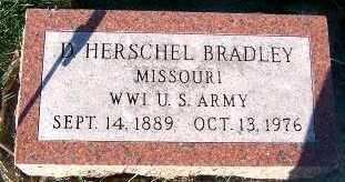 BRADLEY, D. HERSCHEL - Sioux County, Iowa   D. HERSCHEL BRADLEY