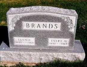 BRANDS, EVERT O. - Sioux County, Iowa | EVERT O. BRANDS