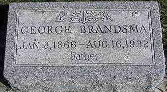 BRANDSMA, GEORGE - Sioux County, Iowa   GEORGE BRANDSMA