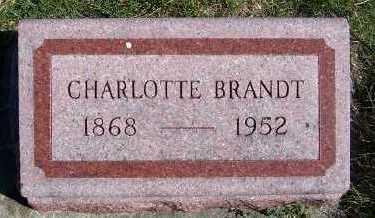 BRANDT, CHARLOTTE - Sioux County, Iowa | CHARLOTTE BRANDT