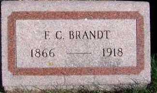BRANDT, F. C. - Sioux County, Iowa   F. C. BRANDT