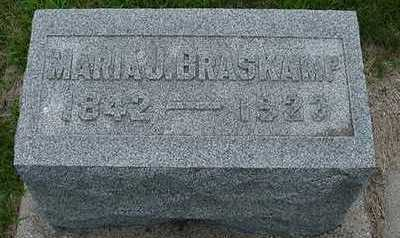 BRASKAMP, MARIA J. - Sioux County, Iowa | MARIA J. BRASKAMP