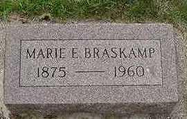 BRASKAMP, MARIE E. - Sioux County, Iowa | MARIE E. BRASKAMP