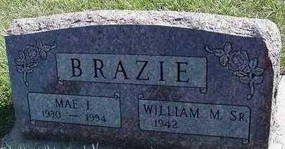 BRAZIE, MAE I. (MRS. WILLIAM) - Sioux County, Iowa | MAE I. (MRS. WILLIAM) BRAZIE