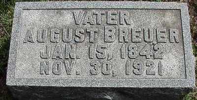BREUER, AUGUST - Sioux County, Iowa   AUGUST BREUER