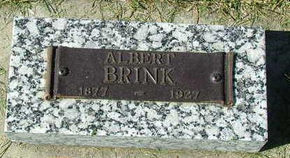 BRINK, ALBERT - Sioux County, Iowa | ALBERT BRINK