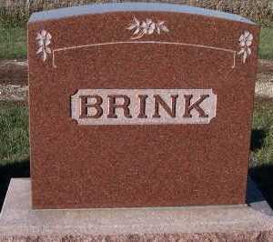 BRINK, FAMILY HEADSTONE - Sioux County, Iowa | FAMILY HEADSTONE BRINK