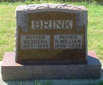 BRINK, H. WILLIAM - Sioux County, Iowa | H. WILLIAM BRINK