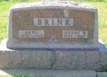 BRINK, ANNA - Sioux County, Iowa | ANNA BRINK