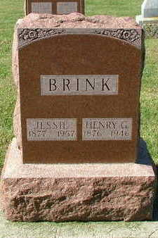 BRINK, HENRY G. - Sioux County, Iowa | HENRY G. BRINK