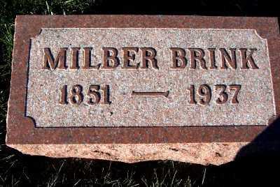 BRINK, MILBER - Sioux County, Iowa | MILBER BRINK