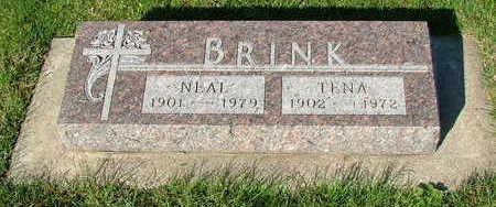 BRINK, TENA (MRS. NEAL) - Sioux County, Iowa | TENA (MRS. NEAL) BRINK
