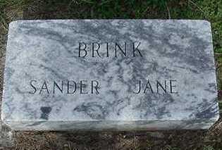 BRINK, JANE - Sioux County, Iowa | JANE BRINK