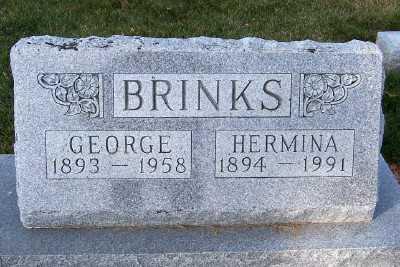 BRINKS, GEORGE - Sioux County, Iowa | GEORGE BRINKS