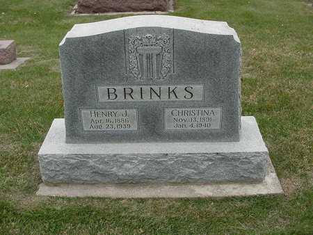 BRINKS, HENRY J. - Sioux County, Iowa | HENRY J. BRINKS