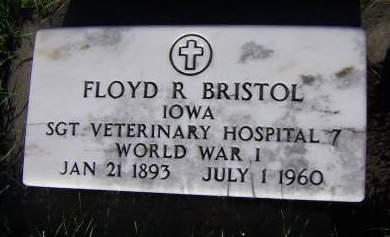 BRISTOL, FLOYD R. - Sioux County, Iowa | FLOYD R. BRISTOL