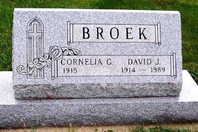 BROEK, DAVID J. - Sioux County, Iowa | DAVID J. BROEK