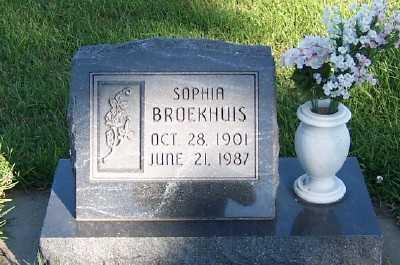 BROEKHUIS, SOPHIA - Sioux County, Iowa | SOPHIA BROEKHUIS