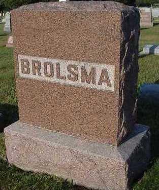 BROLSMA, HEASTONE - Sioux County, Iowa | HEASTONE BROLSMA