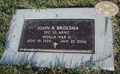 BROLSMA, JOHN R. - Sioux County, Iowa | JOHN R. BROLSMA