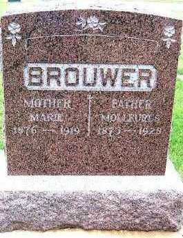 BROUWER, MARIE (1875-1919) - Sioux County, Iowa   MARIE (1875-1919) BROUWER