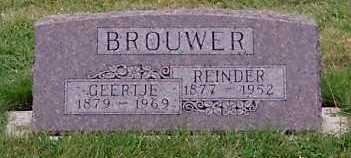 BROUWER, REINDER - Sioux County, Iowa | REINDER BROUWER