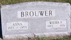 BROUWER, WIEBA F. - Sioux County, Iowa | WIEBA F. BROUWER