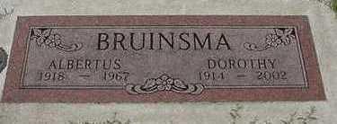BRUINSMA, ALBERTUS - Sioux County, Iowa | ALBERTUS BRUINSMA