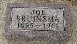 BRUINSMA, JOE - Sioux County, Iowa   JOE BRUINSMA