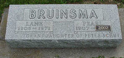 BRUINSMA, PEARL - Sioux County, Iowa | PEARL BRUINSMA