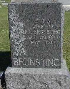 BRUNSTING, ELLA  (MRS. R. L. ) - Sioux County, Iowa | ELLA  (MRS. R. L. ) BRUNSTING